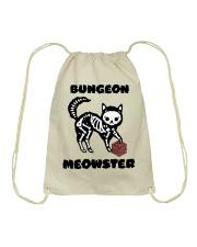 Bungeon Meowster Drawstring Bag thumbnail