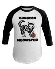 Bungeon Meowster Baseball Tee thumbnail