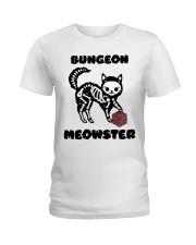 Bungeon Meowster Ladies T-Shirt thumbnail