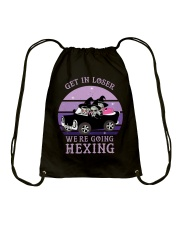Get In Loser Drawstring Bag thumbnail