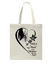 Half Of My Heart Is In Heaven Tote Bag thumbnail