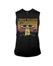 I Want To Leave Sleeveless Tee thumbnail