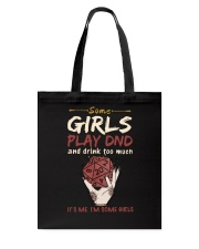 Some Girls Play Dnd Tote Bag thumbnail