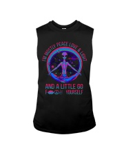 Im Mostly Peace Love Light Sleeveless Tee thumbnail