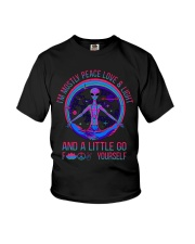 Im Mostly Peace Love Light Youth T-Shirt thumbnail