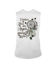 There Are Angels Among Us Sleeveless Tee thumbnail