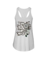 There Are Angels Among Us Ladies Flowy Tank thumbnail