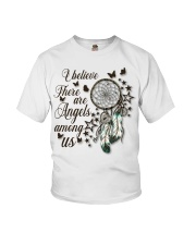There Are Angels Among Us Youth T-Shirt thumbnail