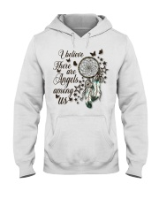 There Are Angels Among Us Hooded Sweatshirt thumbnail