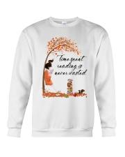 Time Spent Reading Crewneck Sweatshirt thumbnail