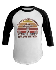 On A Dark Desert Higway Baseball Tee thumbnail
