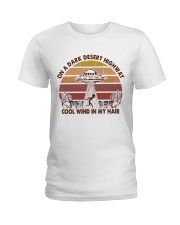 On A Dark Desert Higway Ladies T-Shirt thumbnail
