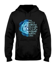Im Not A Widow Hooded Sweatshirt front