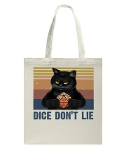 Dice Do Not Lie Tote Bag thumbnail