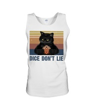 Dice Do Not Lie Unisex Tank thumbnail