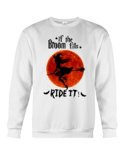 Witch If The Broom Fits Crewneck Sweatshirt thumbnail