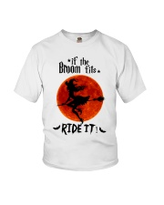 Witch If The Broom Fits Youth T-Shirt thumbnail
