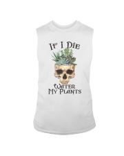 If I Die Water My Plants Sleeveless Tee thumbnail
