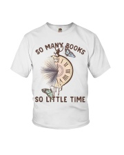 Many Books Little Time Youth T-Shirt thumbnail