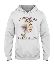 Many Books Little Time Hooded Sweatshirt tile
