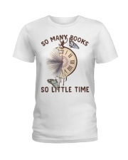 Many Books Little Time Ladies T-Shirt tile