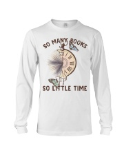 Many Books Little Time Long Sleeve Tee tile