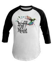 Your Wings Was Ready Baseball Tee thumbnail