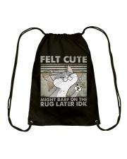 Felt Cute Drawstring Bag thumbnail
