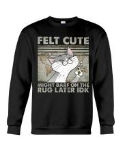Felt Cute Crewneck Sweatshirt thumbnail