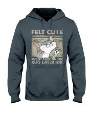 Felt Cute Hooded Sweatshirt thumbnail