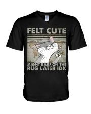 Felt Cute V-Neck T-Shirt thumbnail