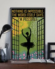 Nothing Is Impossible 11x17 Poster lifestyle-poster-2