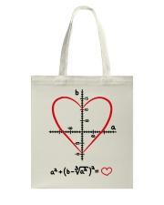 Math Love Tote Bag thumbnail