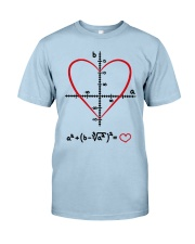 Math Love Classic T-Shirt front