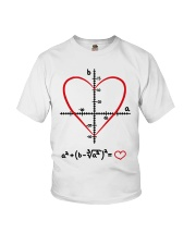 Math Love Youth T-Shirt thumbnail