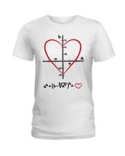 Math Love Ladies T-Shirt thumbnail