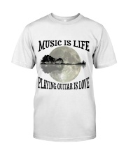 Playing Guitar Is Love Classic T-Shirt front
