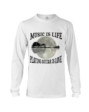 Playing Guitar Is Love Long Sleeve Tee thumbnail