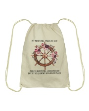 My Heart Looks For You Drawstring Bag thumbnail