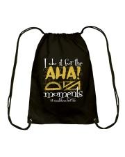 I Do It For The Aha Drawstring Bag thumbnail