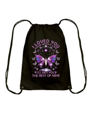 I Love You Drawstring Bag thumbnail