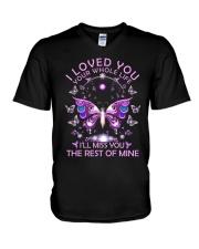 I Love You V-Neck T-Shirt thumbnail