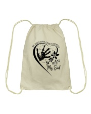 My First Love Lives In Heaven Drawstring Bag thumbnail