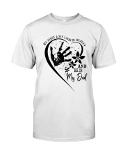 My First Love Lives In Heaven Classic T-Shirt front