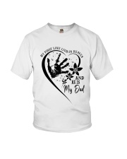 My First Love Lives In Heaven Youth T-Shirt thumbnail