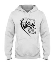 My First Love Lives In Heaven Hooded Sweatshirt thumbnail