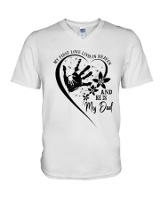 My First Love Lives In Heaven V-Neck T-Shirt thumbnail