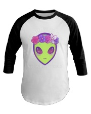 She Came From Outer Space Baseball Tee thumbnail