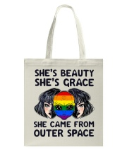 She Came From Outer Space Tote Bag thumbnail