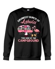 Drunkest Bunch Of Assholes Crewneck Sweatshirt thumbnail